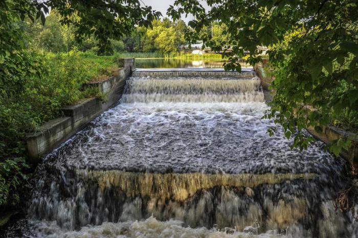 водопад ра реке Пехорке