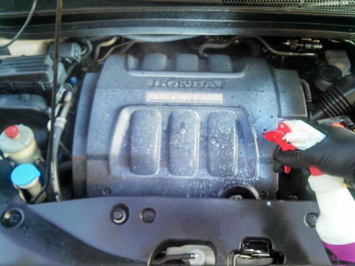 лучшее средство для мытья двигателя