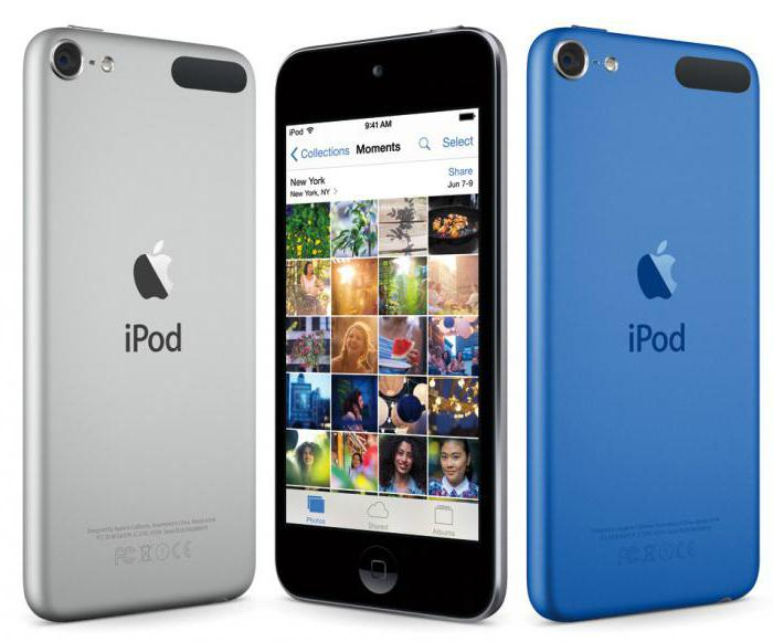 apple ipod touch 6 характеристики