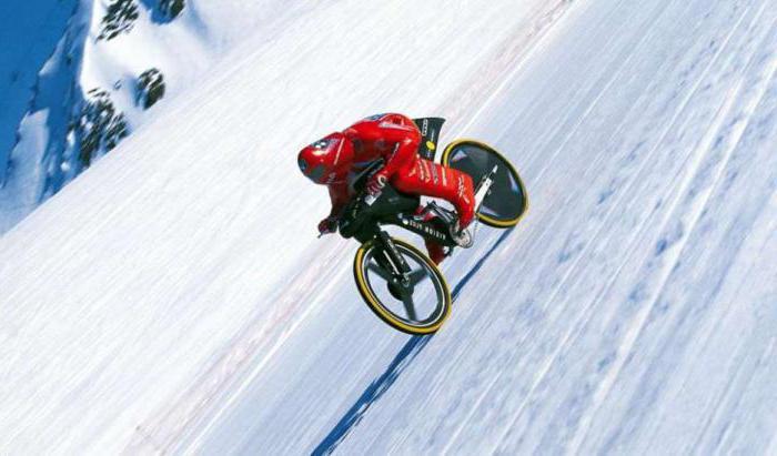 maximum speed cycling record