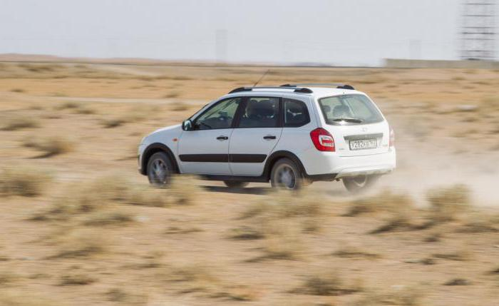 new Lada Kalina Cross reviews of the owners