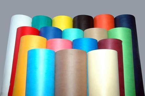nonwoven covering material from weeds