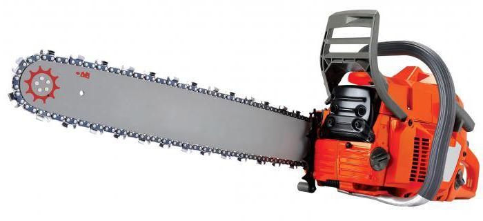 gasoline chain saw carver