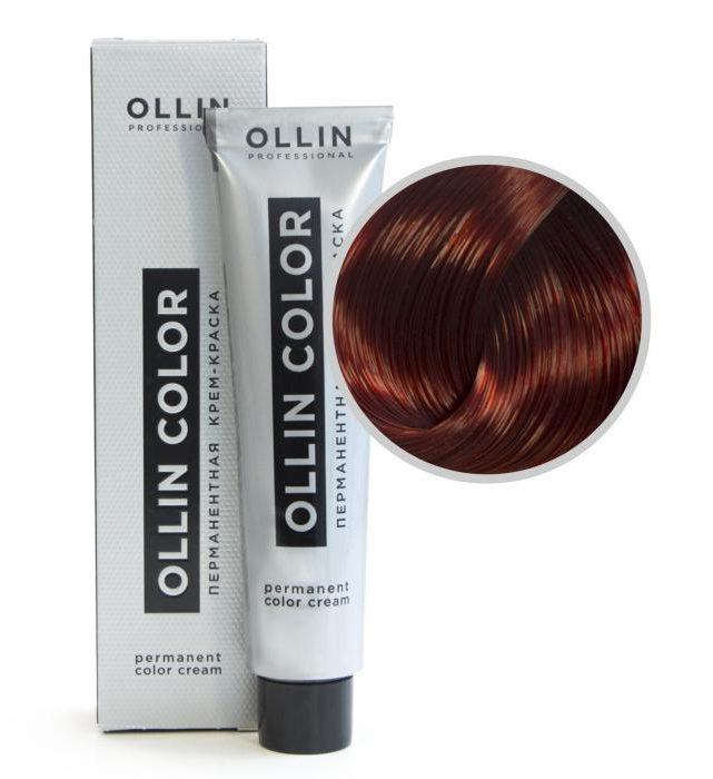 Краска для волос ollin палитра цветов