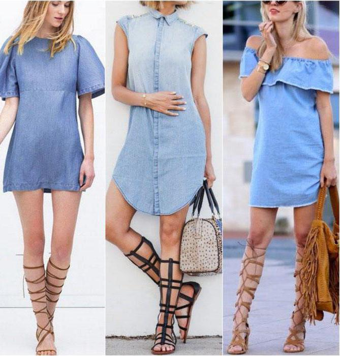 denim dress with what to wear in summer