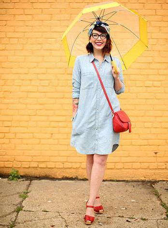 what shoes to wear denim dress
