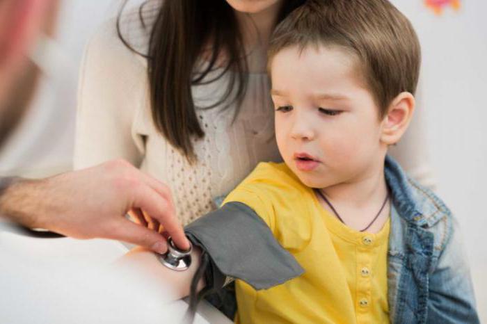 измерение артериального давления у детей