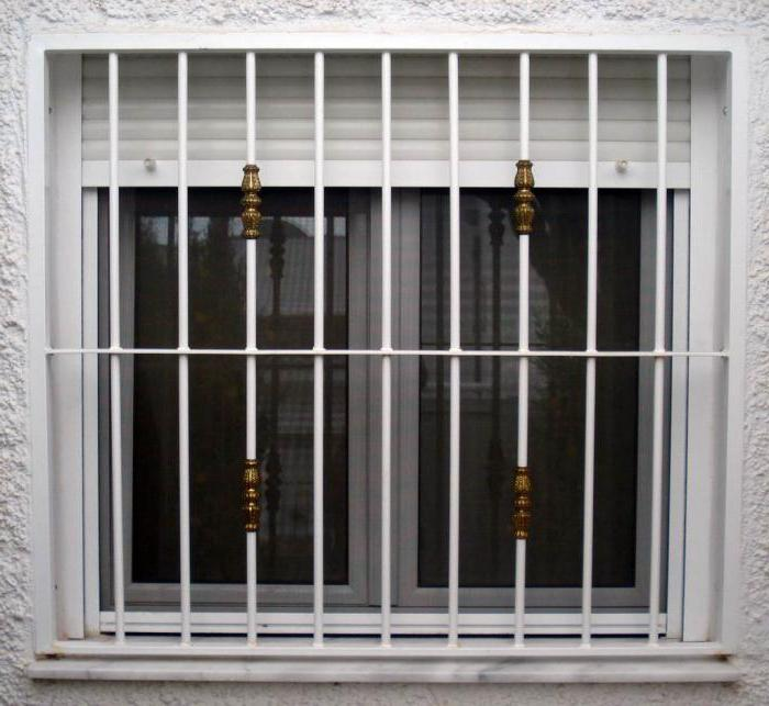 do-it-yourself window grating installation