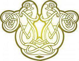 celtic tattoo ornament