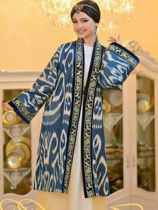 Uzbek dresses styles