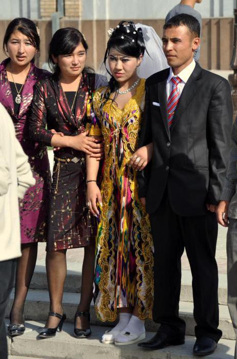 Uzbek dresses with pants