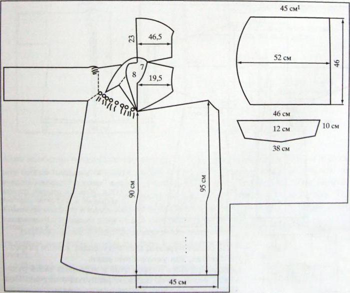 uzbek dress pattern