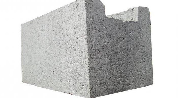 septum gas silicate blocks