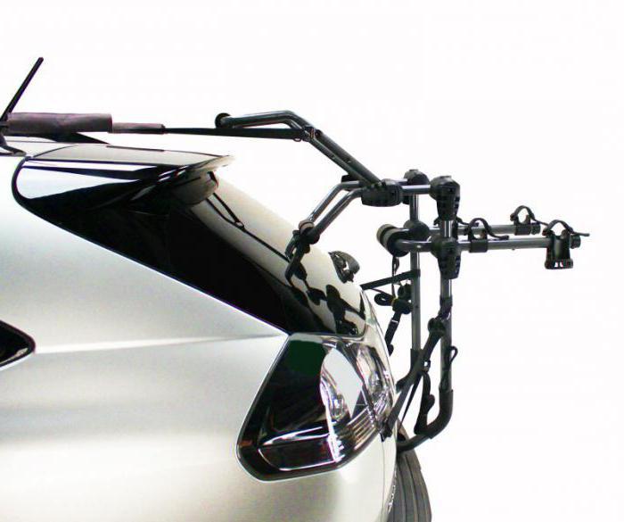 багажники для перевозки велосипеда на автомобиле