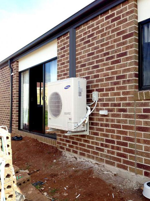 installation of air conditioners split systems