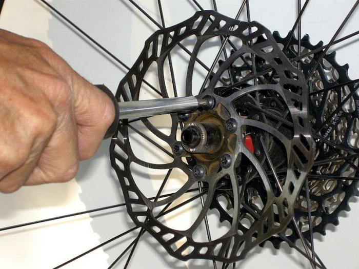 скрипят дисковые тормоза на новом велосипеде