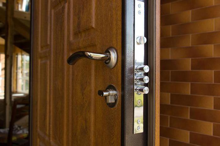 installation of entrance doors