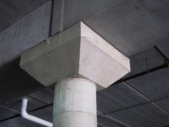 concrete pylon 110