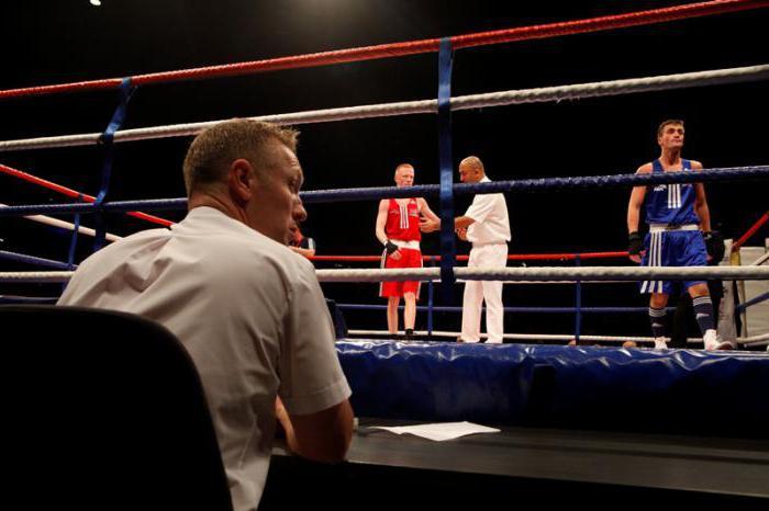 amateur boxing rules