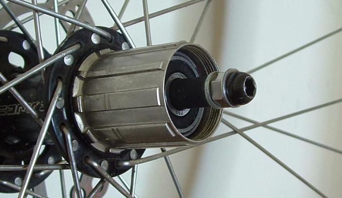 задняя втулка велосипеда устройство