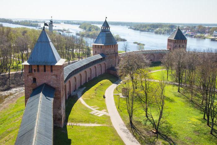 history of the Kremlin in the great Novgorod