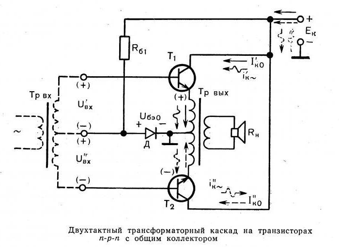 усилитель нч на транзисторе