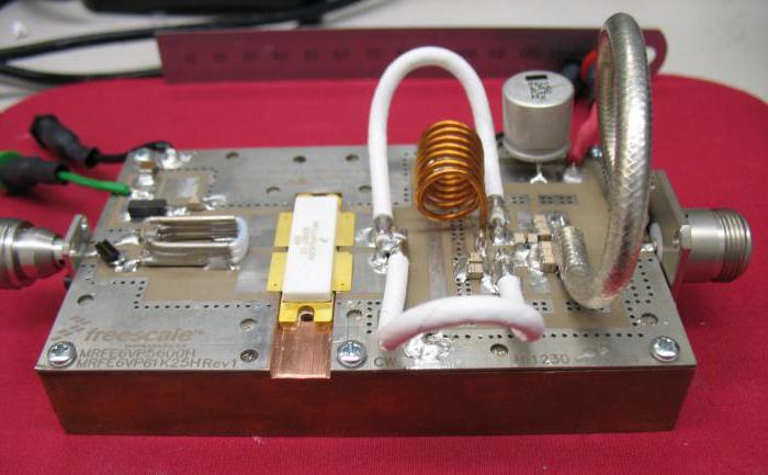 transistor audio amplifier