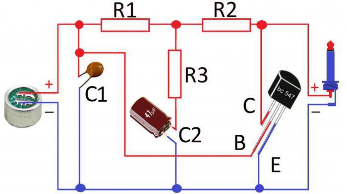 germanium transistor amplifier