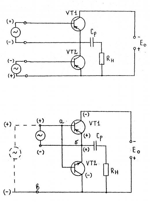 усилитель на полевых транзисторах
