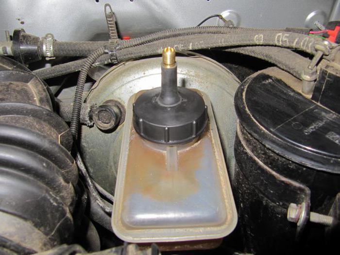brake master cylinder VAZ-2106