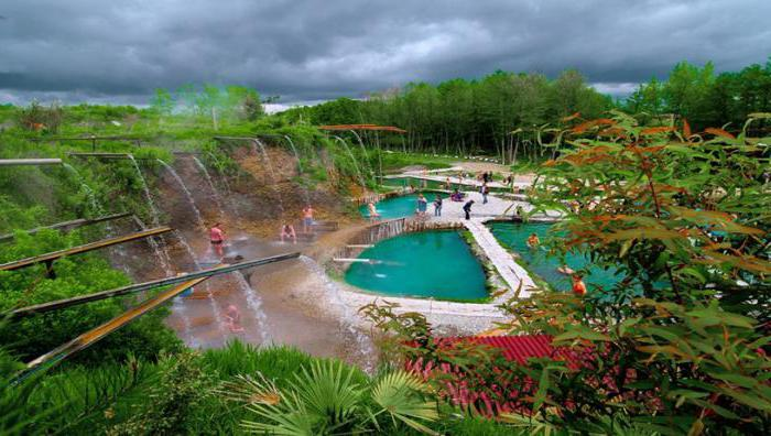 thermal springs in Abkhazia Kyndyg how to get