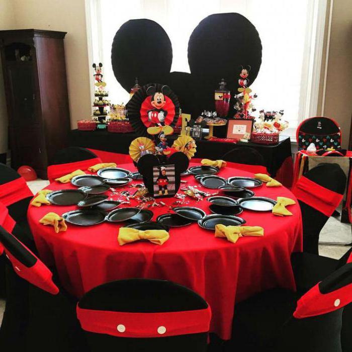оформление сладкого стола на детский день рождения