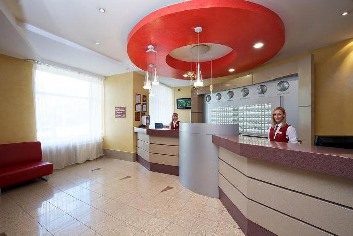 hotel October Krasnoyarsk address