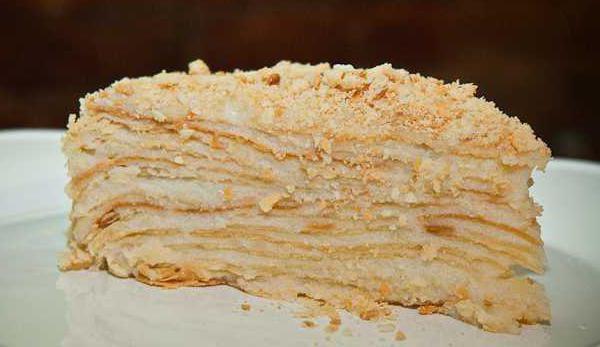 слоеный торт домашний
