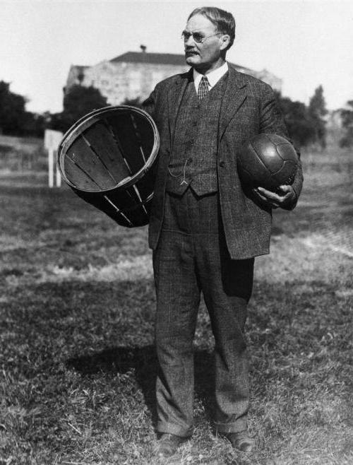 a biography of james naismith the founder of basketball Dr james naismith, physical educator, author, inventor, chaplain the naismith memorial basketball hall of fame was established on the campus of springfield college.
