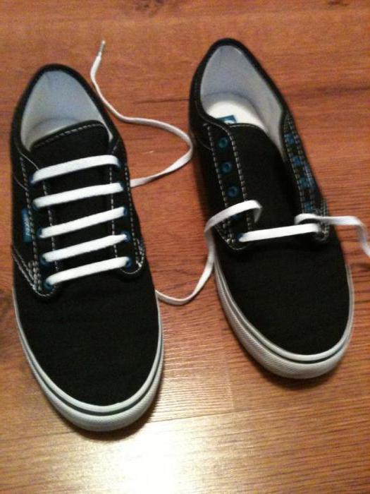 b182324fe Шнуровка кроссовок с 5 дырками - оригинальные варианты, схемы и ...