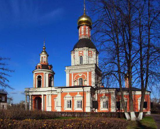 architectural monument farmstead sviblovo