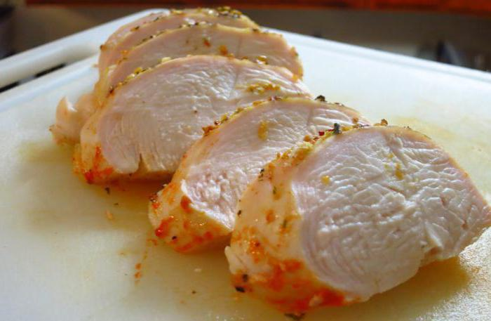 Рецепт буженины из куриного филе в духовке