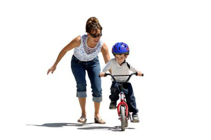 four-wheel bicycle for children from 2 years