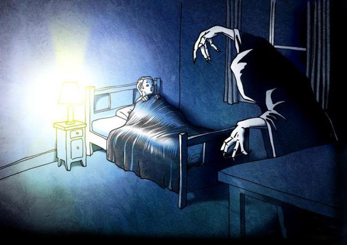 Кошмары снятся только ночью