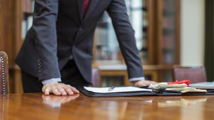 юридические профессии список