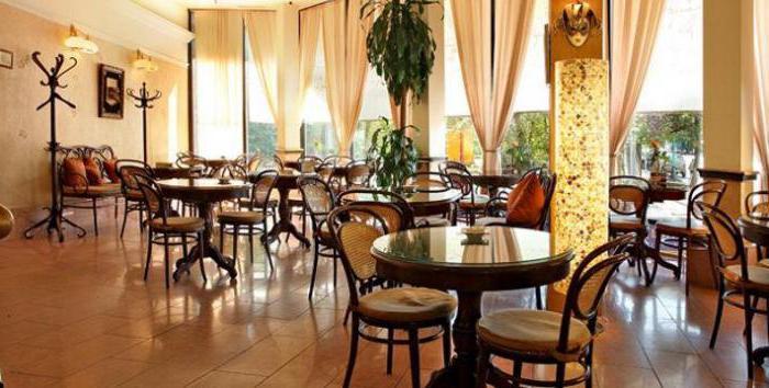 """restaurant """"Chantil"""" on Bolshaya Gruzinskaya"""