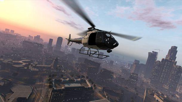 gta 5 police helicopter