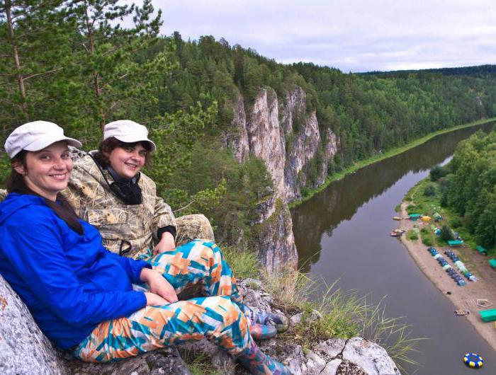 chusovoy rafting route