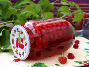 how to close the raspberry compote