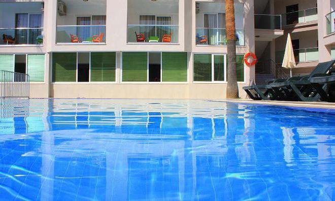 Marmaris Resort Delux Hotel room description