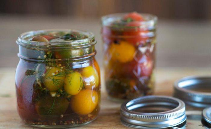 pickled tomatoes fast and tasty