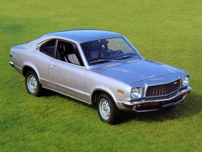 Mazda model range photo