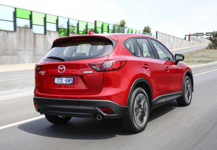 Mazda model range