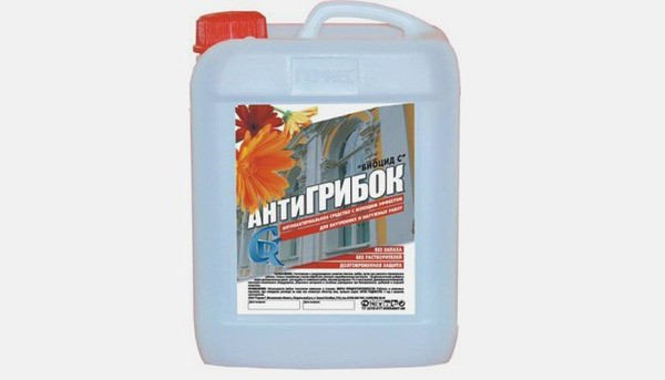 than to treat the wall of mold and mildew on the balcony